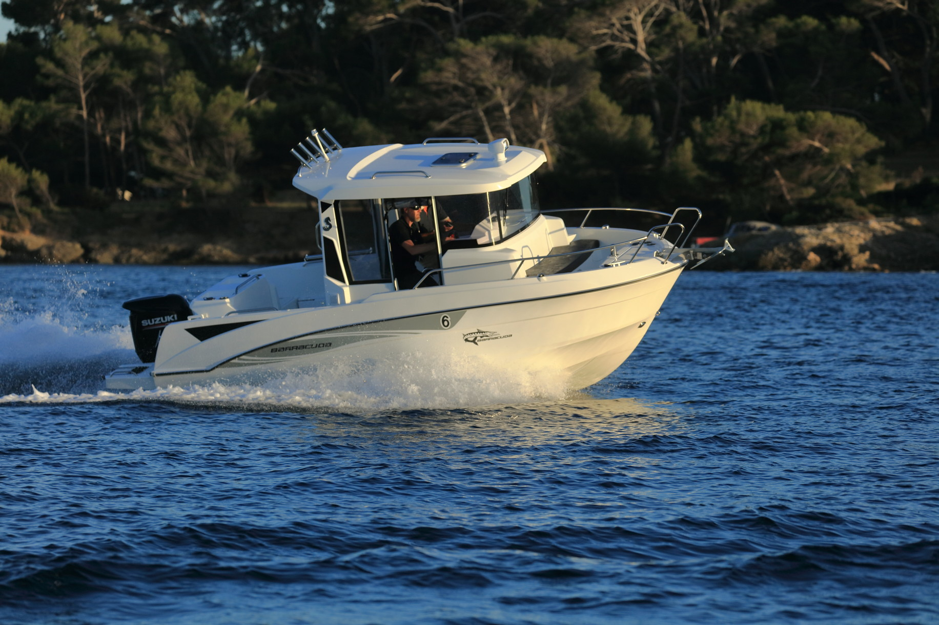 beneteau barracuda 6 en navigation